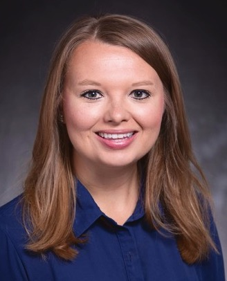 Megan Berard in an official portrait style photo