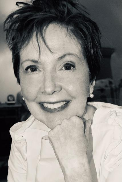 A portrait style black and white photo of Judith Moran