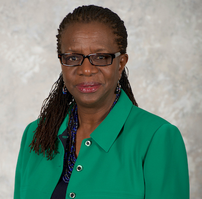 Dr. Edilma Yearwood in a portrait-style photography